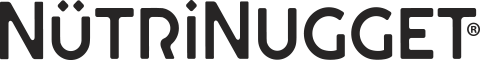 Logo noir de Nutrinugget