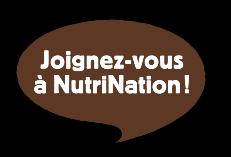 Joignez-vous à NutriNation